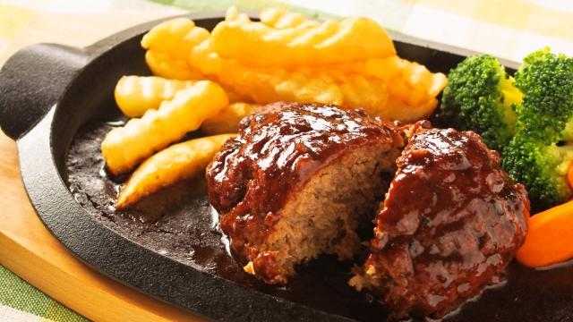 ●●ハンバーグでダイエット!