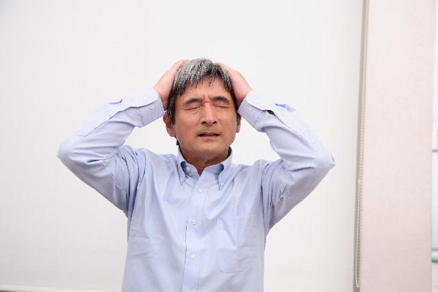 老化だけじゃない!白髪の生えている位置で体の不調がわかる?